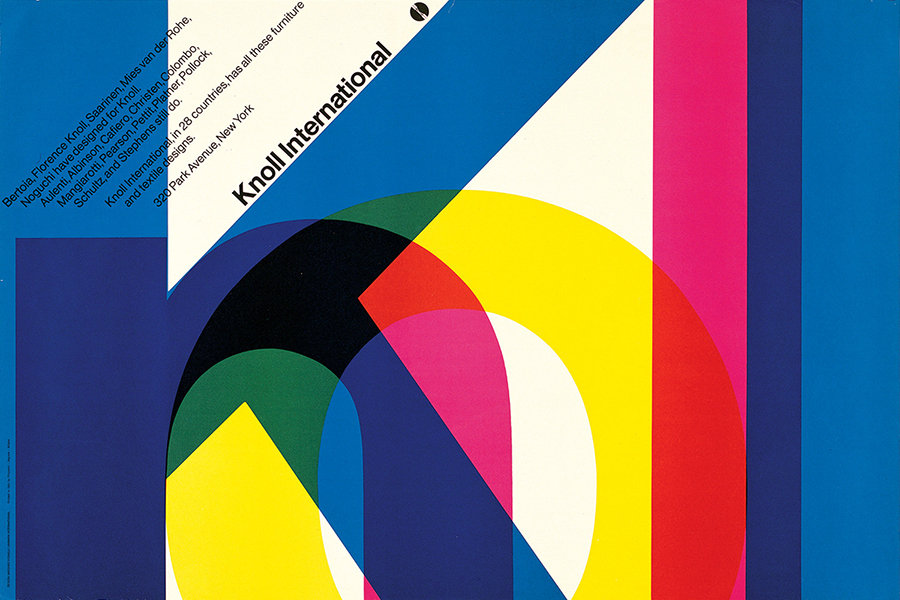 Designculture massimo vignelli for Knoll and associates